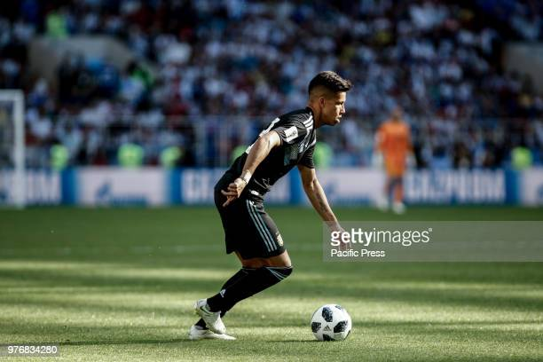 SALVIO during the game between Argentina and Iceland valid for the first round of group D of the 2018 World Cup held at the Spartak stadium in Moscow...
