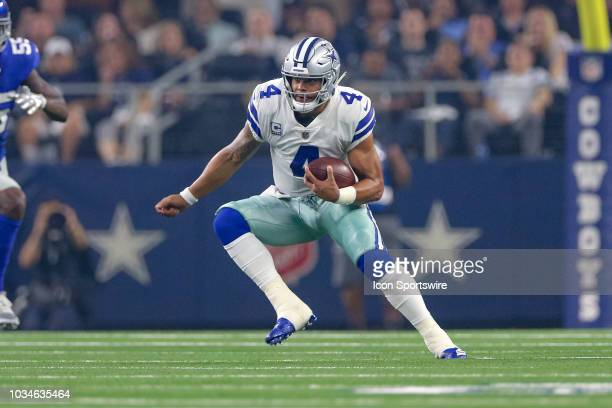 during the game between the New York Giants and Dallas Cowboys on September 16 2018 at ATT Stadium in Arlington TX
