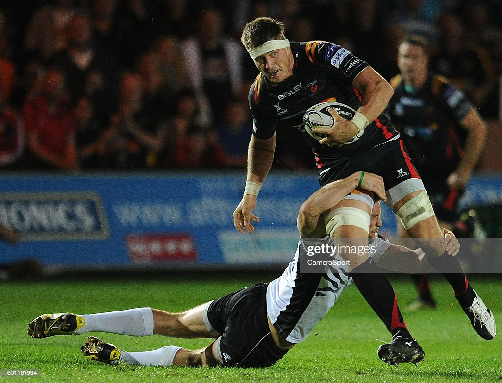 Newport Gwent Dragons v Zebre Rugby - Guinness Pro 12 : News Photo