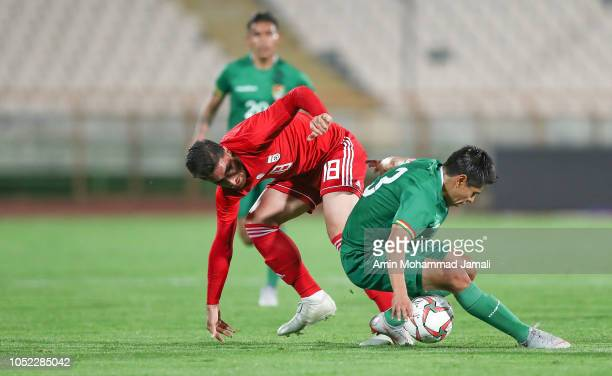 during the international friendly match between Iran and Bolivia at Azadi Stadium on October 16 2018 in Tehran Iran