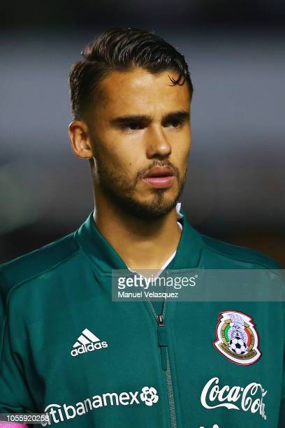 during the international friendly match between Mexico and Chile at La Corregidora Stadium on October 16 2018 in Queretaro Mexico