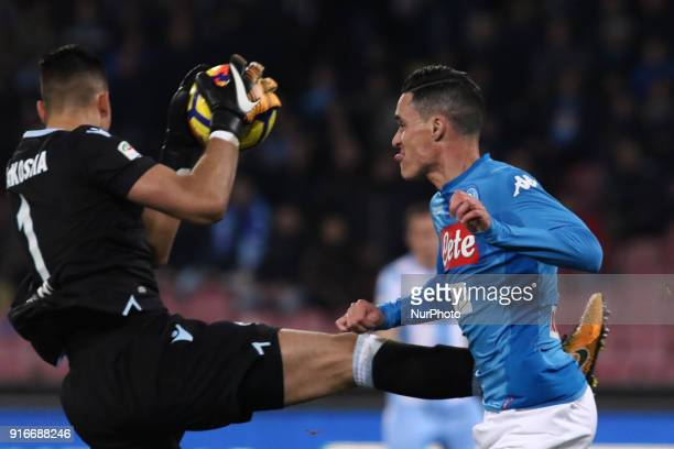NAD JOSE' CALLEJON during the Italian Serie A football SSC Napoli v SS Lazio at S Paolo Stadium in Naples on February 10 2018