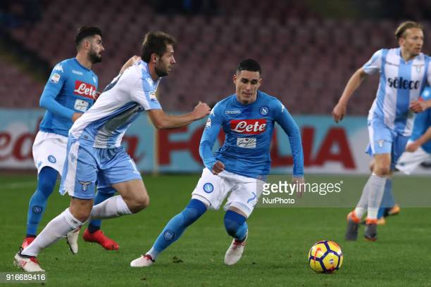 JOSE' CALLEJON during the Italian Serie A football SSC Napoli v SS Lazio at S Paolo Stadium in Naples on February 10 2018