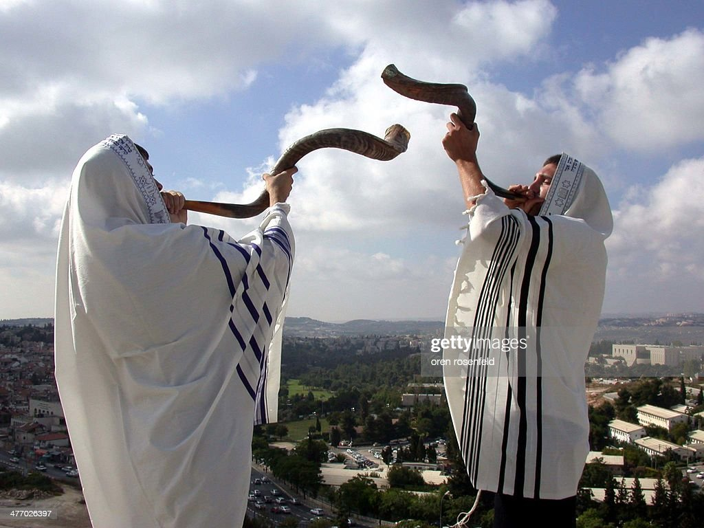 Shofars Over Jerusalem : News Photo