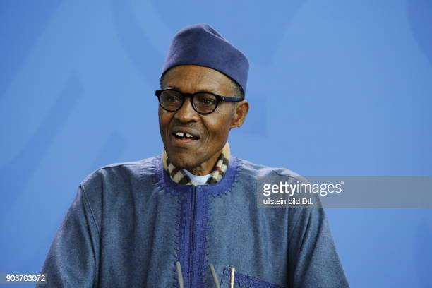 During the joint press conference by Chancellor Angela_Merkel and the state president from Nigeria Muhammadu Buhari on 14 October 2016 in Berlin he...