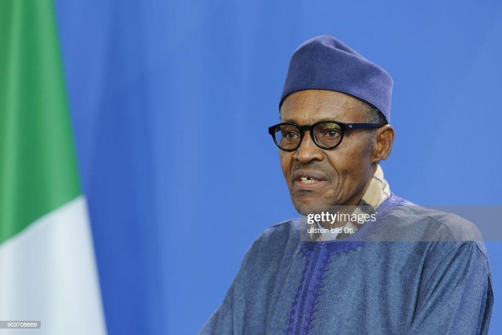 Nigeria's President Buhari : News Photo