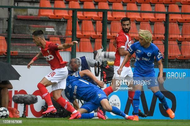 During the Jupiler Pro League match between Standard Liege and KRC Genk on August 23, 2020 in Liege, Belgium,