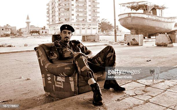 During the Libyan revolt against the rule of Colonel Muammar Qaddafi, many young men volunteered to fight with the rebels. With no previous war...
