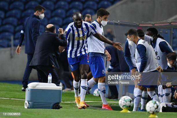 During the Liga NOS match between FC Porto and Vitoria Guimaraes SC at Estadio do Dragao on April 21, 2021 in Porto, Portugal.