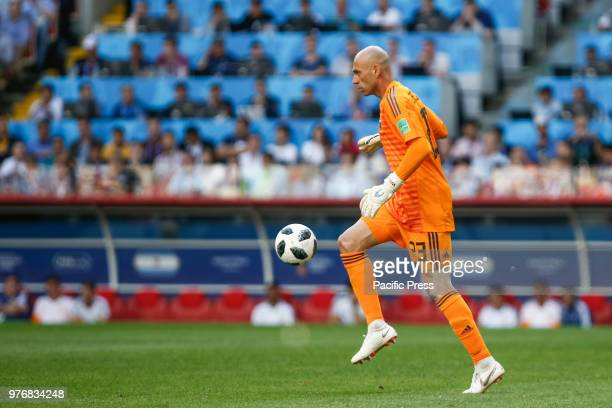 CABALLERO during the match between Argentina and Iceland valid for the first round of Group D of the 2018 World Cup held at the Spartak Stadium in...