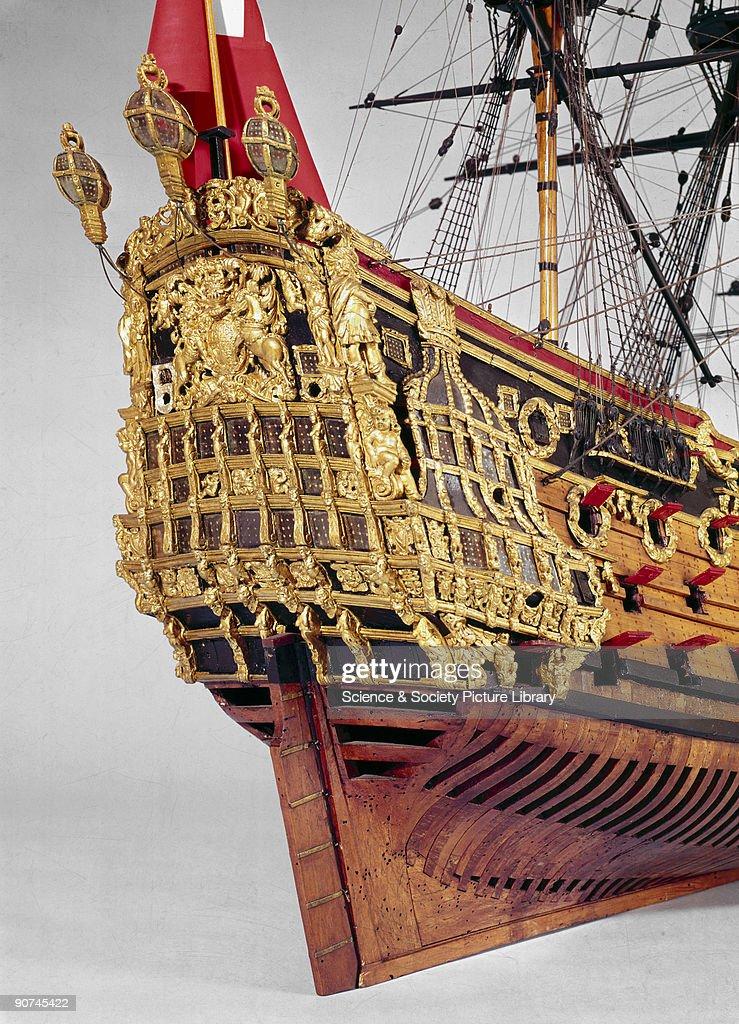 HMS Prince, 1670. : News Photo