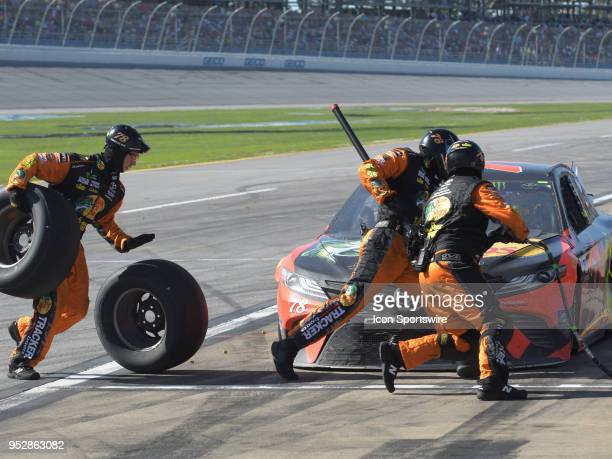 during the Monster Energy Cup Series 49th Annual Geico 500 on April 29 at Talladega Superspeedway in Talladega AL