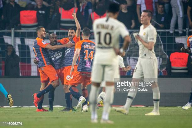 during the Montpellier Vs Paris SaintGermain French Ligue 1 regular season match at Stade de la Mosson on April 30th 2019 in Montpellier France