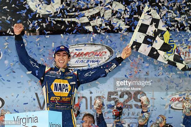 during the NASCAR XFINITY Series Virginia529 College Savings 250 at Richmond International Raceway on September 11 2015 in Richmond Virginia