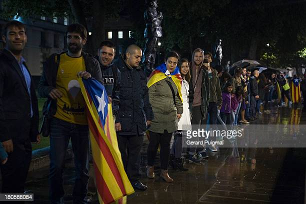 CONTENT] During the National Day of Catalonia a demonstration is organized to claim for Catalonia Independence asking for a referendum in 2014 in...