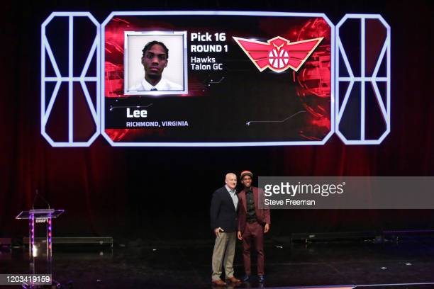 during the NBA 2K League Draft on February 22 2020 at Terminal 5 in New York New York NOTE TO USER User expressly acknowledges and agrees that by...