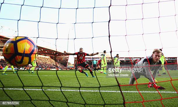 during the Premier League match between AFC Bournemouth and Liverpool at Vitality Stadium on December 4 2016 in Bournemouth England