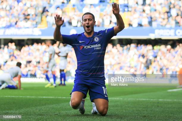 during the Premier League match between Chelsea FC and Cardiff City at Stamford Bridge on September 15 2018 in London United Kingdom