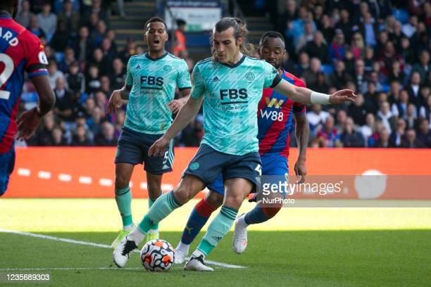 During the Premier League match between Crystal Palace and Leicester City at Selhurst Park, London on Sunday 3rd October 2021.