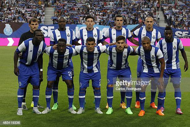 XXX during the preseason friendly between FC Porto and Napoli at Estadio do Dragao on August 8 2015 in Porto Portugal