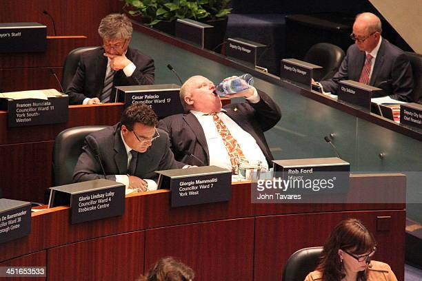 During the previous Council meeting councillors confronted Mayor Rob Ford with allegations involving drug consumption and alcoholism. He had made a...