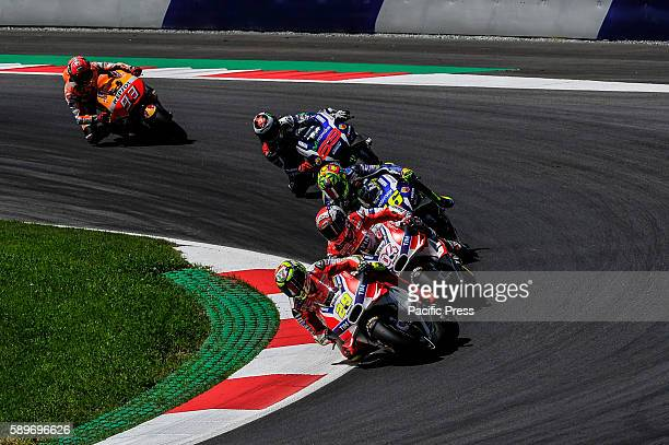 During the race of Austrian motogp The result turn out that Andrea Iannone takes his first MotoGP victory having held off teammate Andrea Dovizioso...