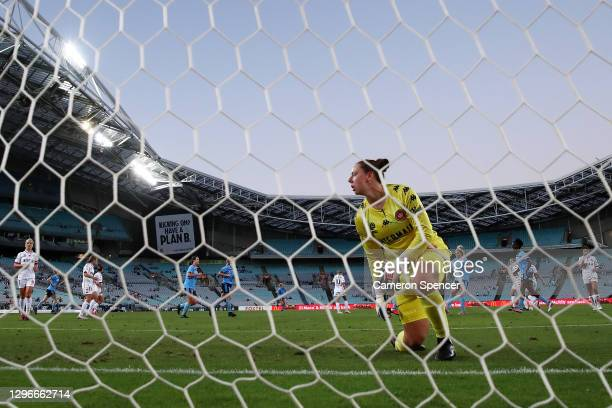 During the round four W-League match between Sydney FC and the Western Sydney Wanderers at ANZ Stadium, on January 16 in Sydney, Australia.