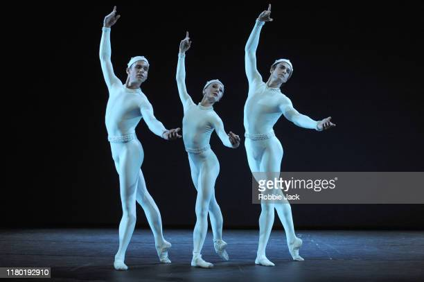 During the Royal Ballet's triple bill at Linbury Theatre on October 9, 2019 in London, England.