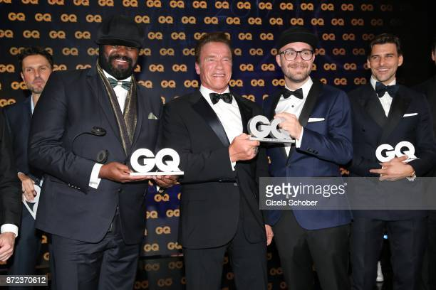 during the show of the GQ Men of the year Award 2017 at Komische Oper on November 9 2017 in Berlin Germany