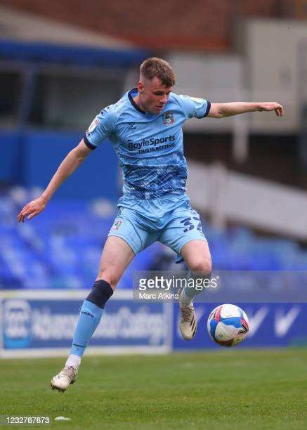 During the Sky Bet Championship match between Coventry City and Millwall at St Andrew's Trillion Trophy Stadium on May 8, 2021 in Birmingham,...