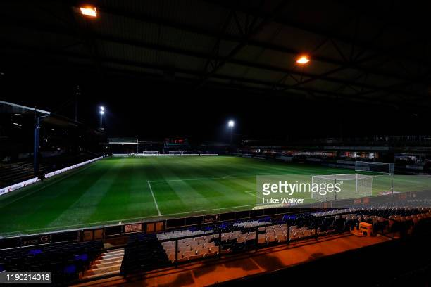 During the Sky Bet Championship match between Luton Town and Charlton Athletic at Kenilworth Road on November 26, 2019 in Luton, England.
