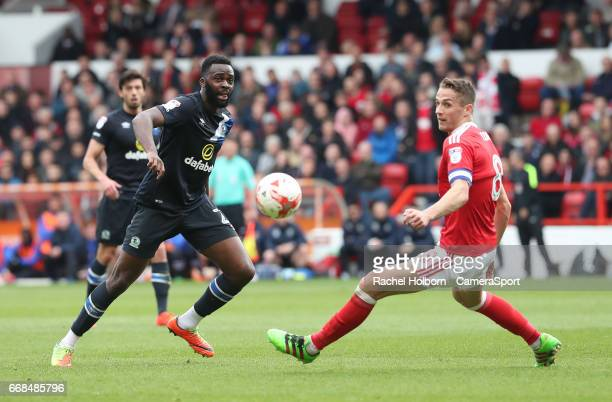 Nottingham Forest's Chris Cohen NOTTINGHAM ENGLAND APRIL 14 during the Sky Bet Championship match between Nottingham Forest and Blackburn Rovers at...