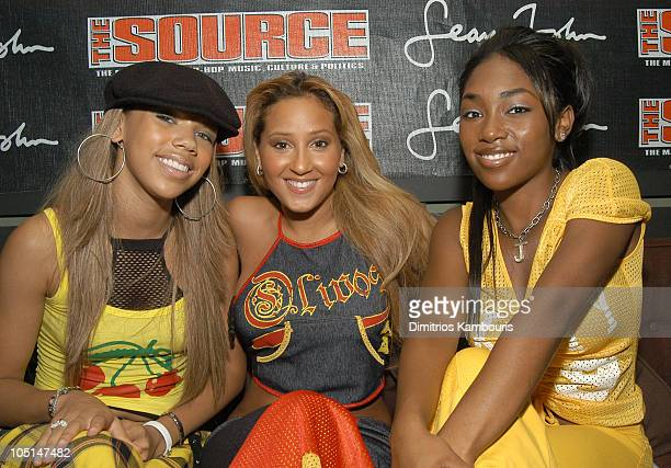 3LW during The Source Magazine Celebrates 15 Years of Hip Hop History at Manahattan in New York City New York United States