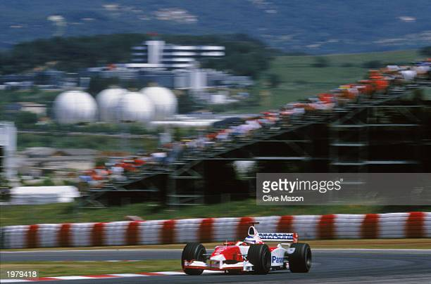 during the Spanish Formula One Grand Prix held on May 4 2003 at the Circuit de Catalunya in Barcelona Spain