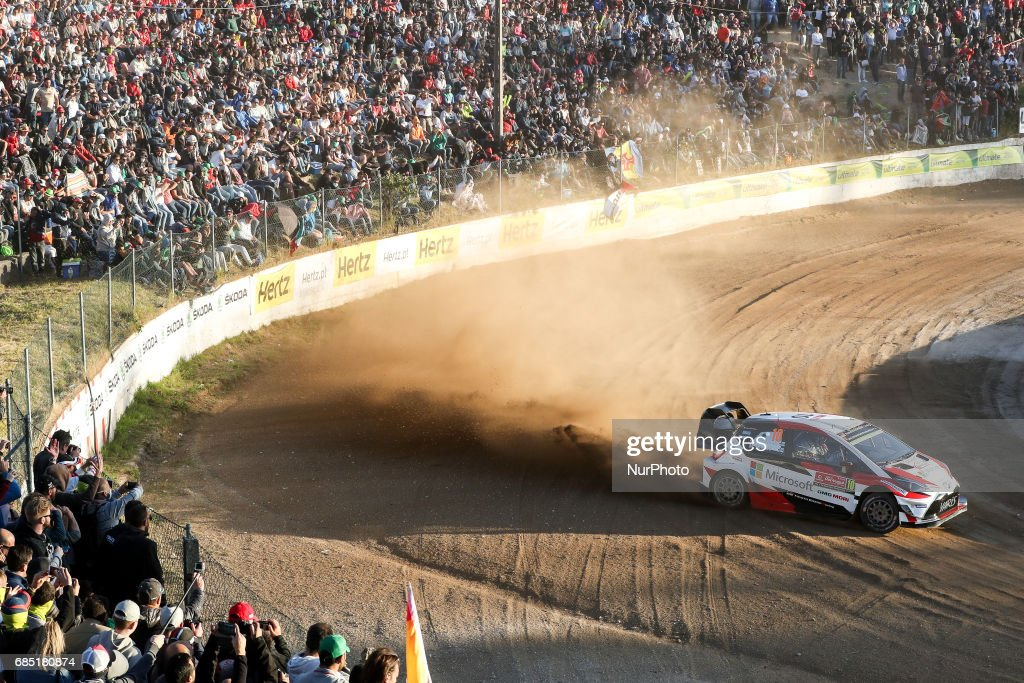during the SS1- Lousada of WRC Vodafone Rally de Portugal 2017, at Guimaraes Castle in Portugal on May 18, 2017.