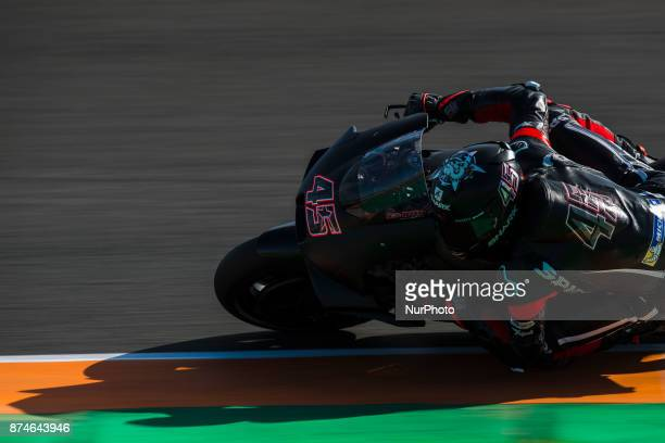 during the tests of the new season MotoGP 2018 Circuit of Ricardo TormoValencia Spain Wednesday 15th of november 2017