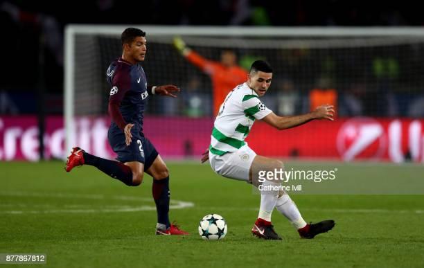 XXX during the UEFA Champions League group B match between Paris SaintGermain and Celtic FC at Parc des Princes on November 22 2017 in Paris France