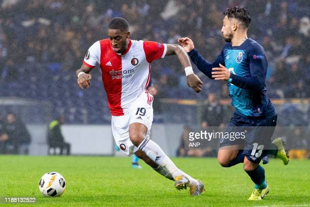 During the UEFA Europa League group G match between FC Porto and Feyenoord Rotterdam at Estadio Dragao on December 12, 2019 in Porto, Portugal