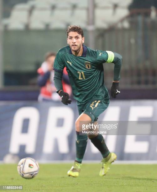during the UEFA U21 European Championship Qualifier match between Italy and Armenia at Stadio Angelo Massimino on November 16 2019 in Catania