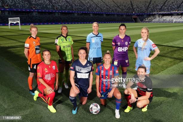 During the W-League 2019/20 Season Launch at Bankwest Stadium on November 07, 2019 in Sydney, Australia.