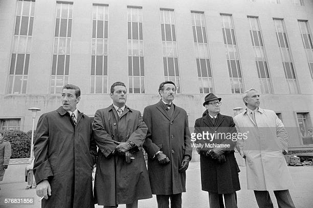 During their trial at a district court the defendants charged with breaking into the Democratic National Committee offices at the Watergate complex...