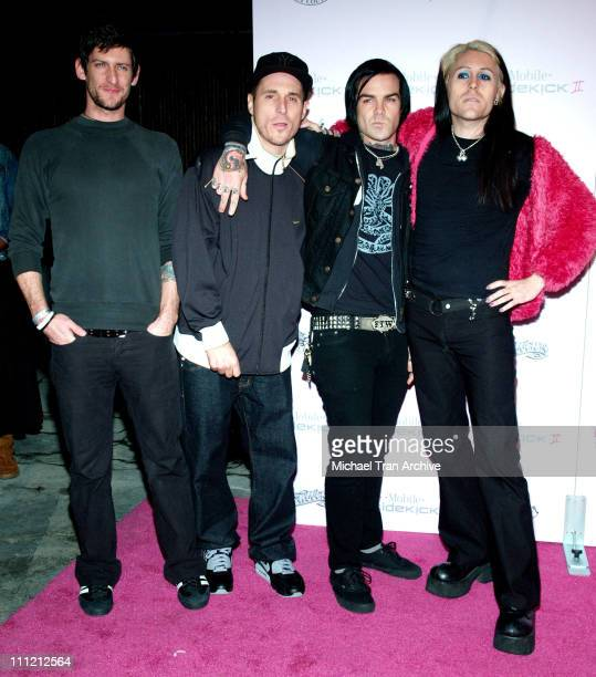 During T-Mobile Limited Edition Sidekick II Launch - Arrivals at T-Mobile Sidekick II City in Los Angeles, California, United States.