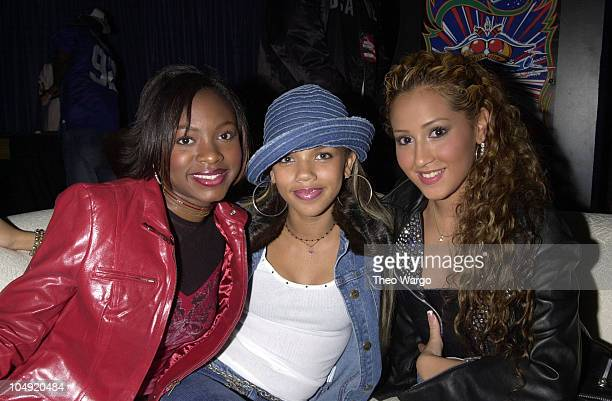 3LW during United We Stand Concert Backstage at RFK Stadium in Washington DC United States