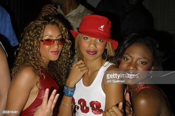 3LW during Usher Party at Tuscan Steak at Tuscan Steak in New York City New York United States