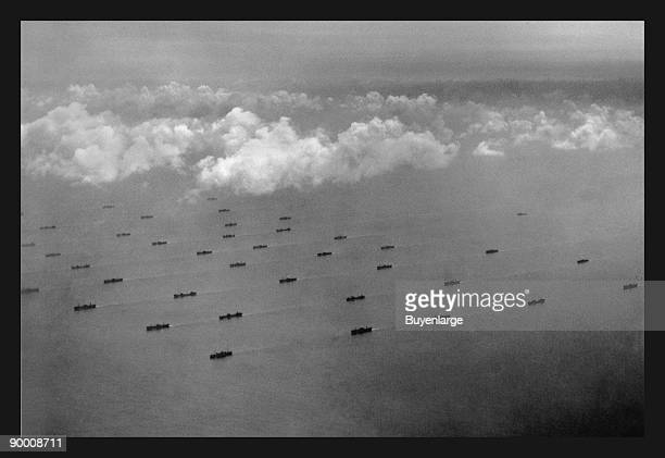 During WWII the German Uboats attacked shipping in the North Atlantic without mercy The convoy system was developed by the British and used the USA...