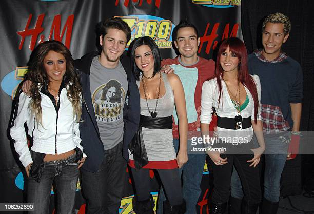 RBD during Z100's Jingle Ball 2006 Press Room at Madison Square Garden in New York City New York United States