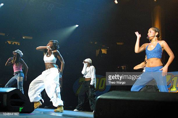 3LW during Z100's Zootopia 2001 at Nassau Coliseum in New York City New York United States