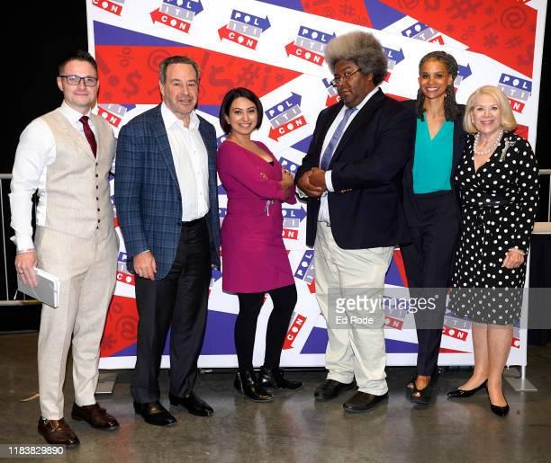 JD Durkin David Frum Nayyera Haq Elie Mystal Maya Wiley and Jill WineBanks attend day 2 of Politicon 2019 at Music City Center on October 27 2019 in...