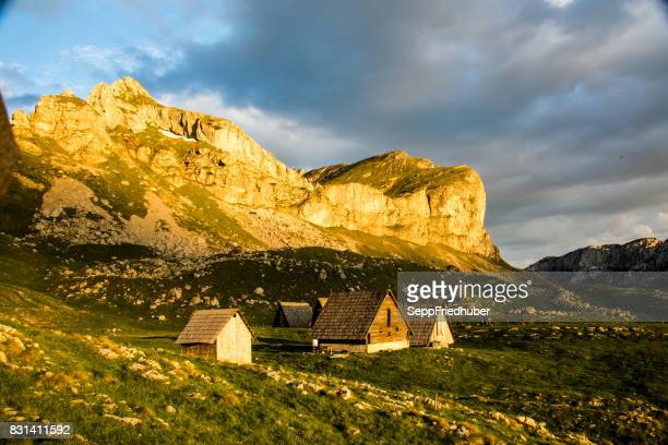 durmitor nationalpark montenegro - nationalpark stock pictures, royalty-free photos & images