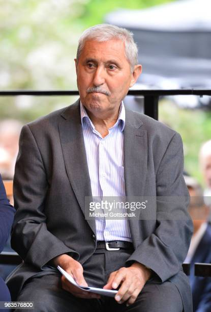 Durmus Genc father and grandfather of some of the victims during the commemoration of the arson attack on the house of the Turkish Genc family 25...